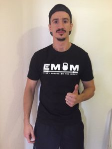 EMOM T-Shirt in Schwarz L