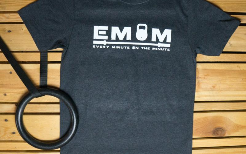 EMOM Every Minute Logo T-Shirt Herren