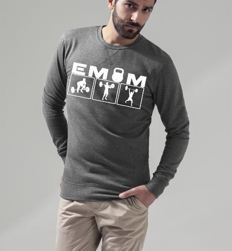 EMOM Clean&Jerk Sweatshirt Herren