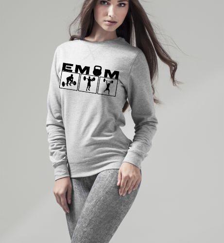 EMOM Clean&Jerk Sweatshirt Damen