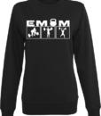 emomcleanjerksweatshirtfrauenschwarz