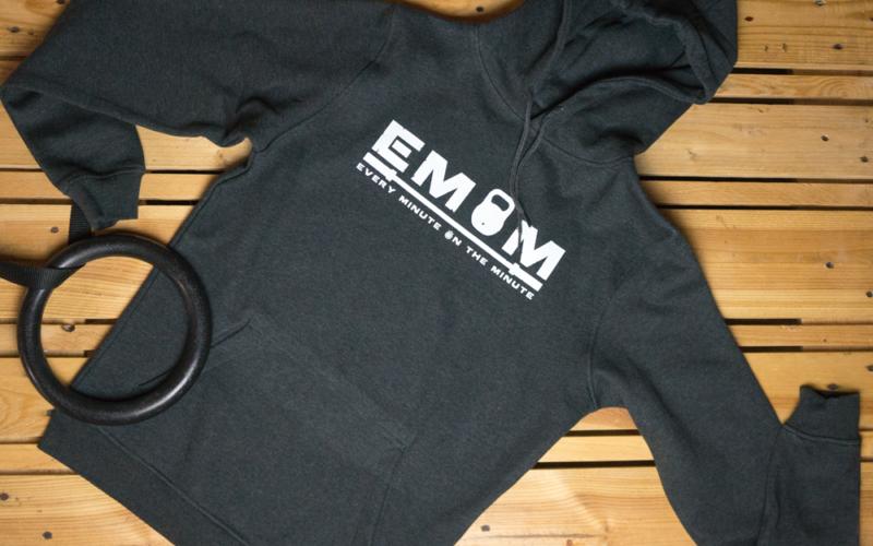 EMOM Every Minute Logo Hoody Herren