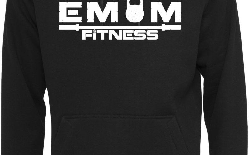 EMOM FITNESS Logo Hoody Herren