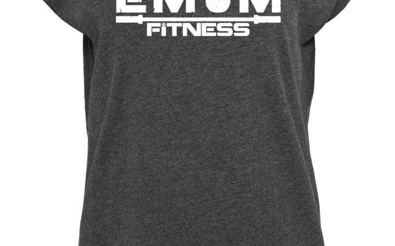 EMOM FITNESS Logo Rundhals T-Shirt Damen