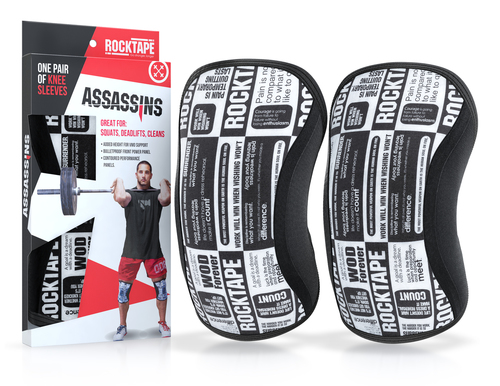 Assasins® Knee Sleeves -- Skull - Kniebandage