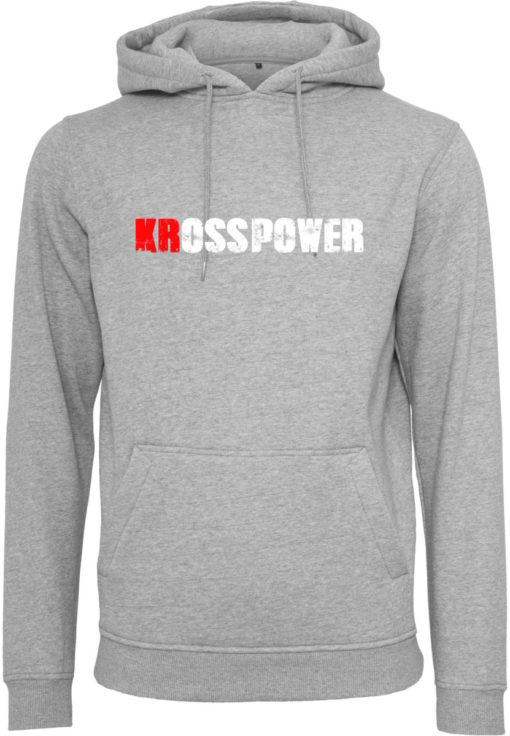 KRossPower Schriftzug Logo Hoody Herren- Partner Merchandise 5