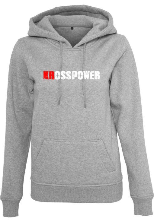 KRosspower Schriftzug Hoody Damen- Partner Merchandise