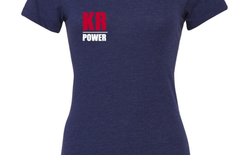 KRosspower Emblem Tri-Blend Shirt Damen