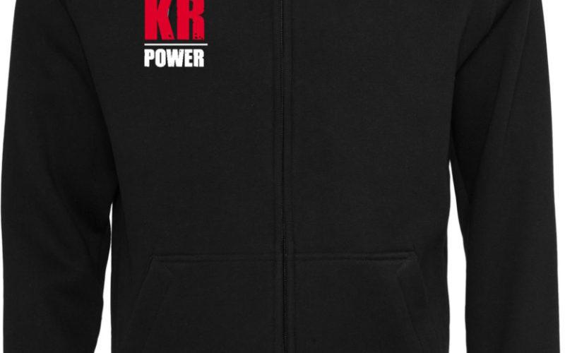 KRosspower Emblem Sweatjacke / Kapuzenjacke Männer
