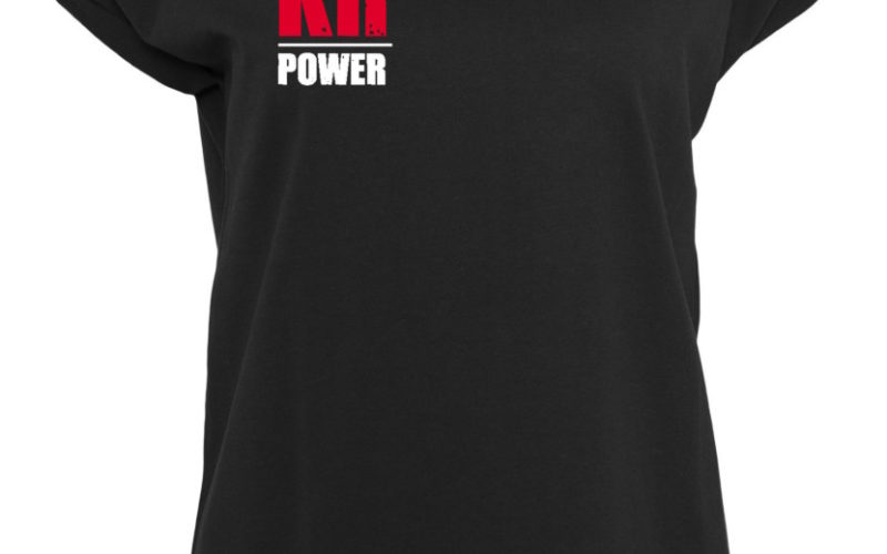 KRosspower Emblem Rundhals T-Shirt Damen