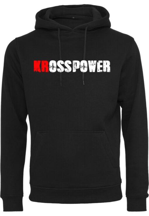 KRossPower Schriftzug Logo Hoody Herren- Partner Merchandise