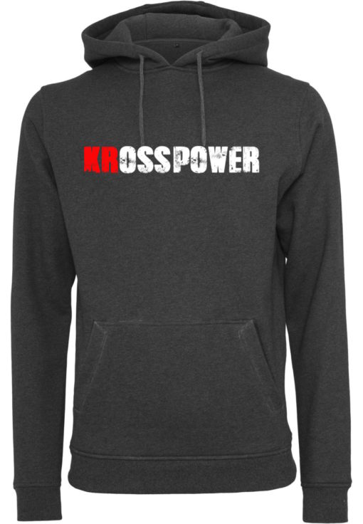 KRossPower Schriftzug Logo Hoody Herren- Partner Merchandise 4
