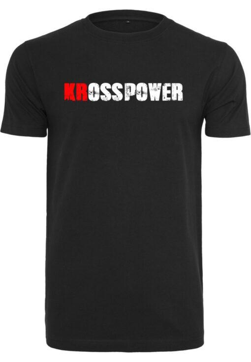 KRossPower Schriftzug Logo Shirt Herren- Partner Merchandise