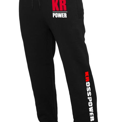 KRosspower Emblem & Schriftzug Heavy Sweatpants Sporthose