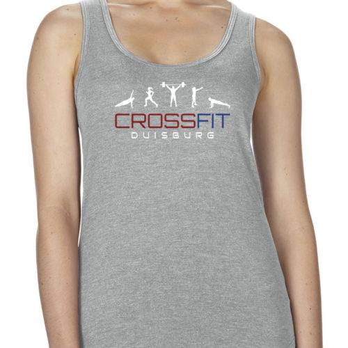 Crossfit® Duisburg TriBlend Racerback Tank-Top Damen - Partner Merchandise 6
