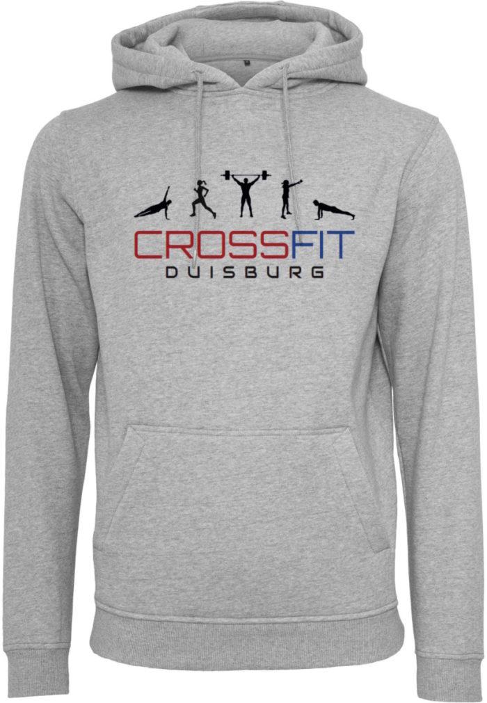 Crossfit® Duisburg Logo Hoody Herren - Partner Merchandise 1