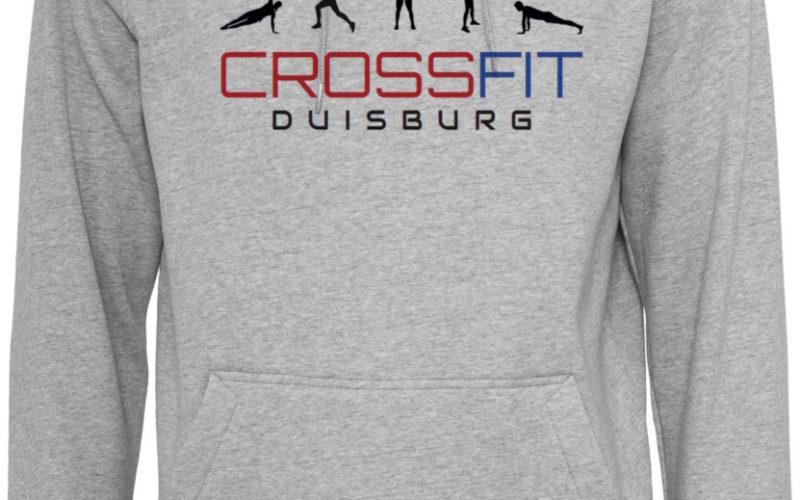 Crossfit Duisburg Logo Hoody Herren