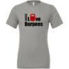 EMOM I love Burpees TriBlend T-Shirt Herre3