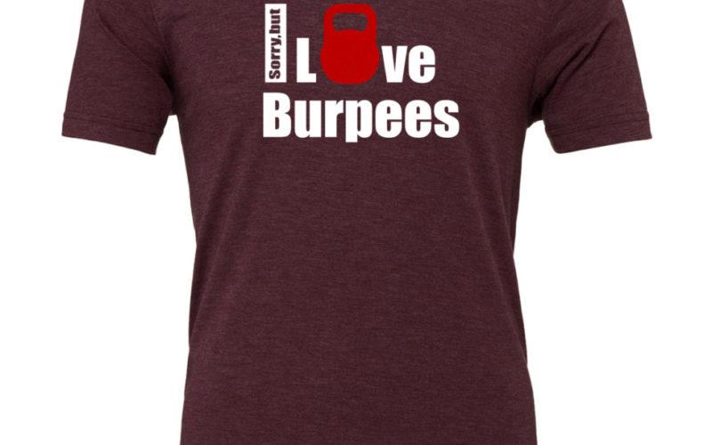 EMOM I love Burpees TriBlend T-Shirt Herren