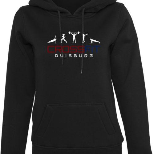 Crossfit® Duisburg Logo Kapuzenpulli Damen - Partner Merchandise 9