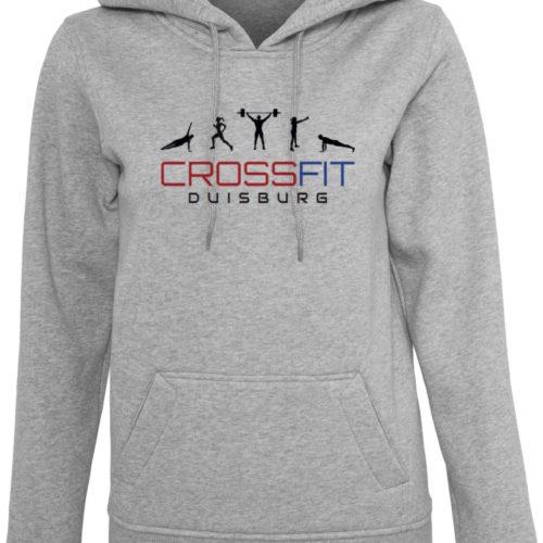 Crossfit® Duisburg Logo Kapuzenpulli Damen - Partner Merchandise 7