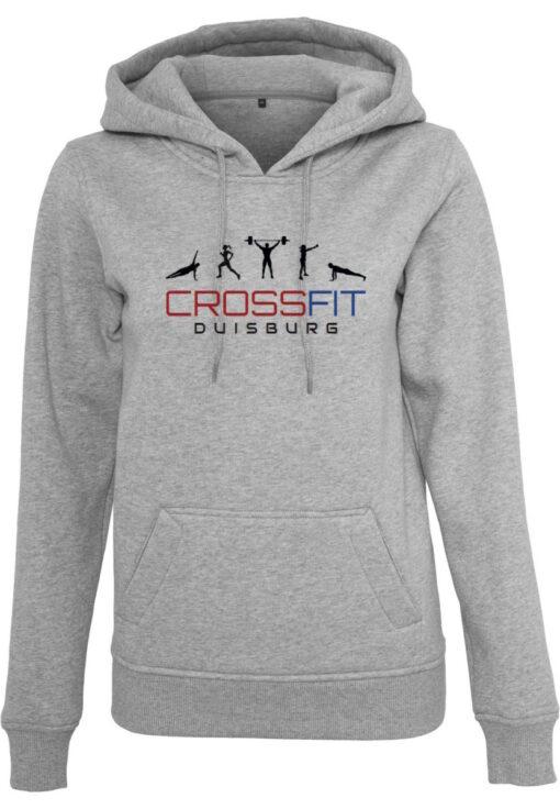 Crossfit® Duisburg Logo Kapuzenpulli Damen - Partner Merchandise 2