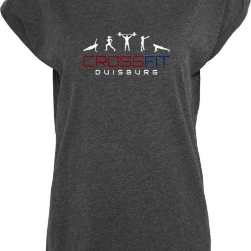 Crossfit® Duisburg lockeres T-Shirt Damen - Partner Merchandise 10