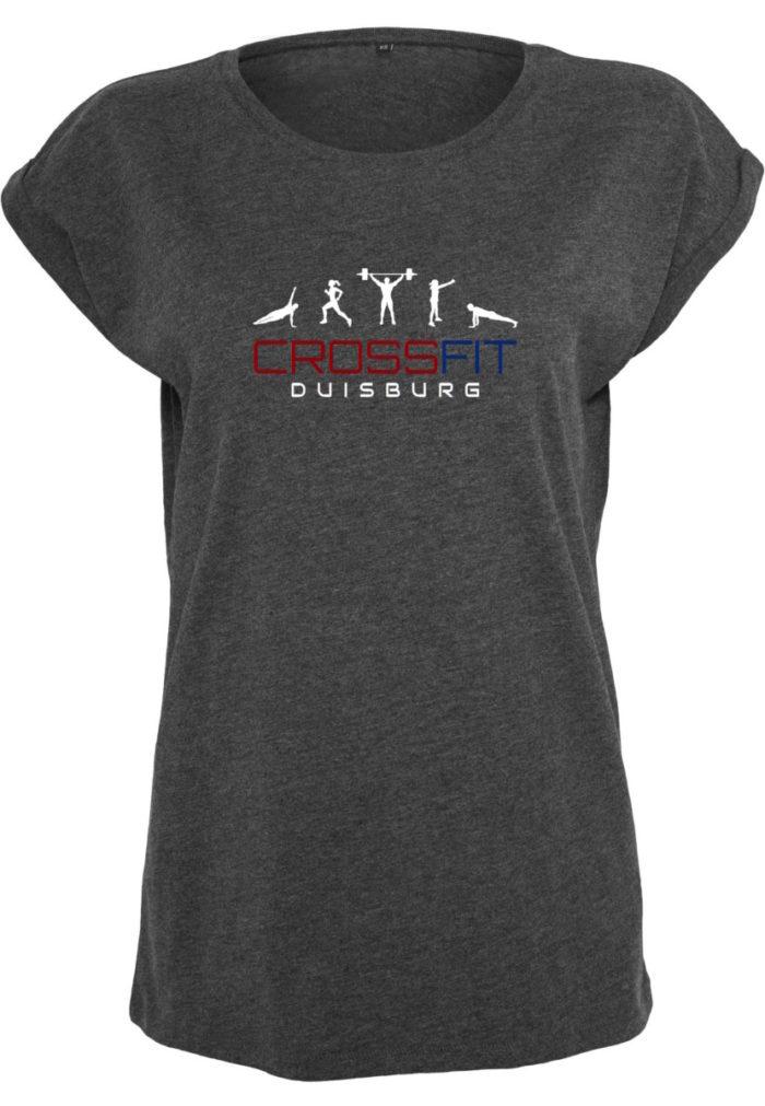 Crossfit® Duisburg lockeres T-Shirt Damen - Partner Merchandise 1