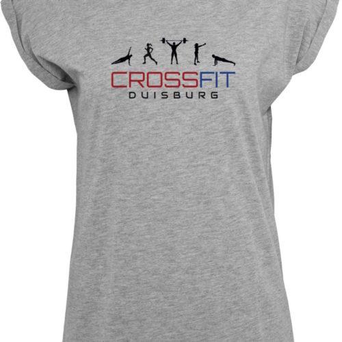 Crossfit® Duisburg lockeres T-Shirt Damen - Partner Merchandise 13