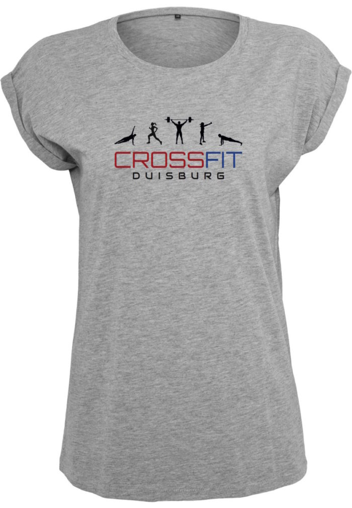 Crossfit® Duisburg lockeres T-Shirt Damen - Partner Merchandise 7