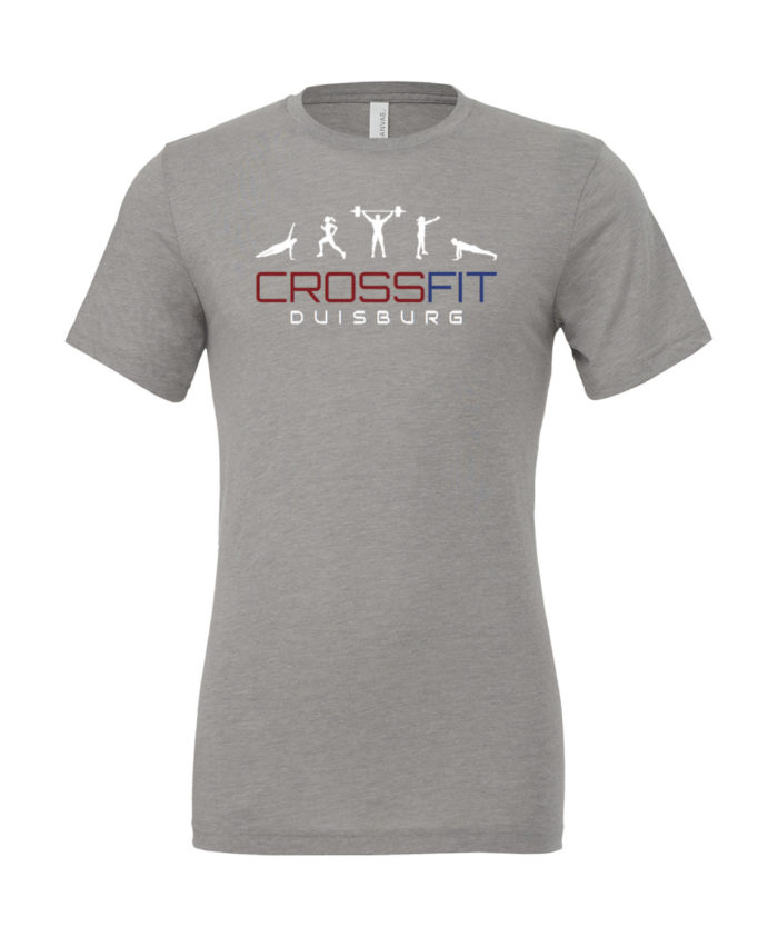 Crossfit® Duisburg Tri-Blend Logo Shirt - Partner Merchandise 1