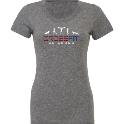 Crossfit® Duisburg Tri-Blend Shirt Damen - Partner Merchandise 9