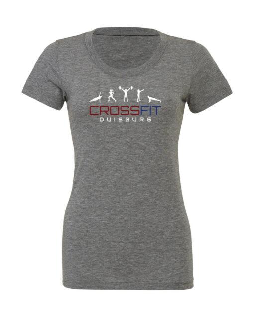 Crossfit® Duisburg Tri-Blend Shirt Damen - Partner Merchandise 1