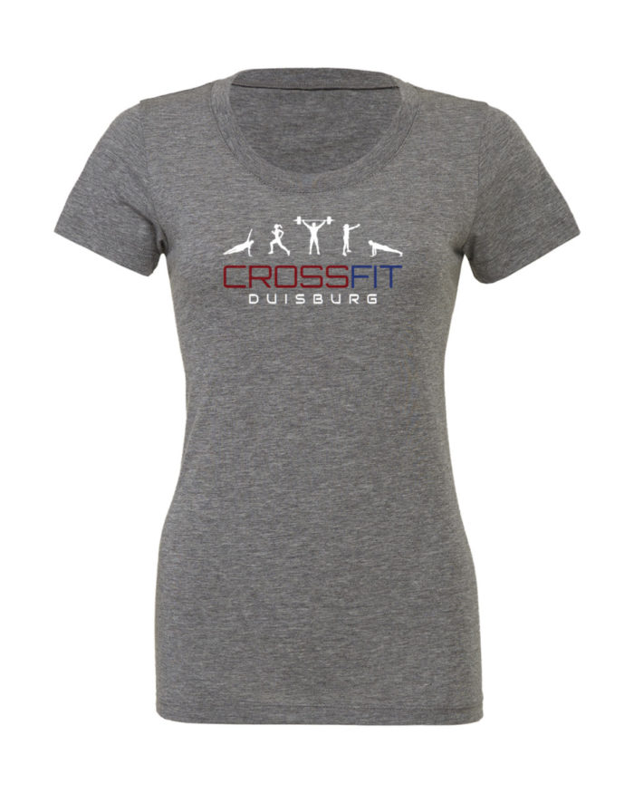 Crossfit® Duisburg Tri-Blend Shirt Damen - Partner Merchandise 1
