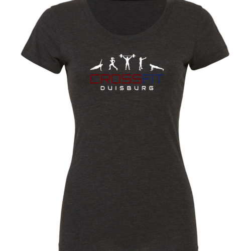 Crossfit® Duisburg Tri-Blend Shirt Damen - Partner Merchandise 7