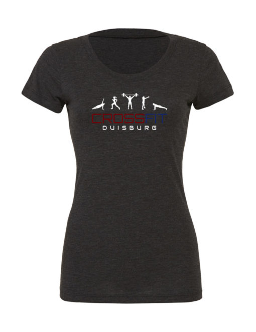 Crossfit® Duisburg Tri-Blend Shirt Damen - Partner Merchandise 2