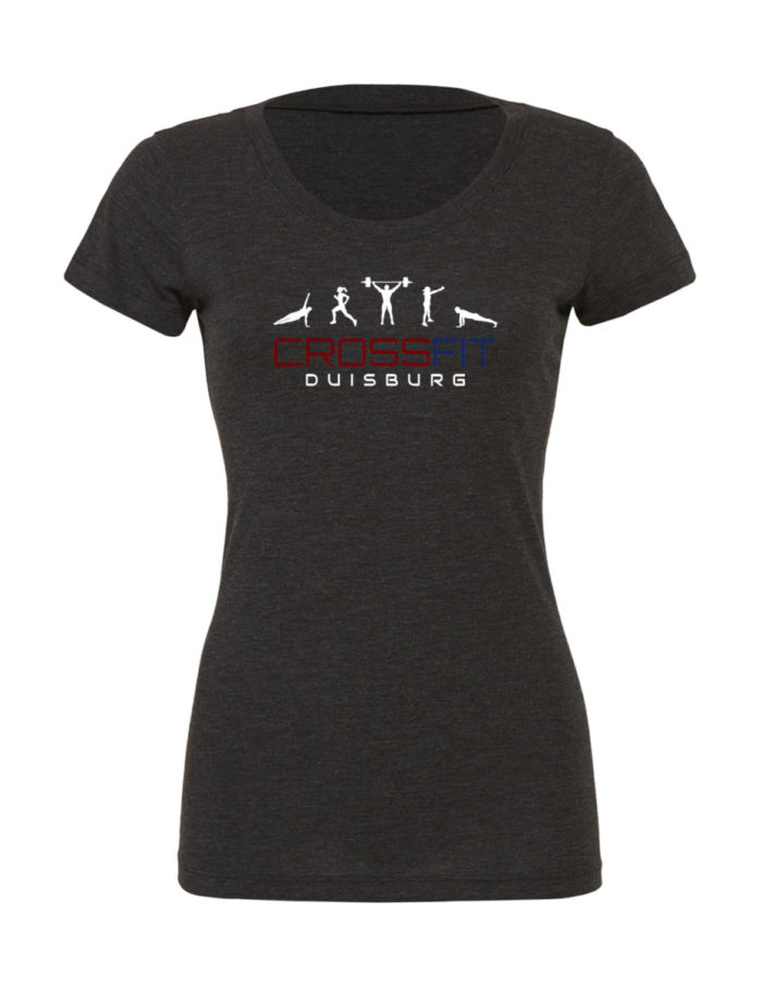 Crossfit® Duisburg Tri-Blend Shirt Damen - Partner Merchandise 2