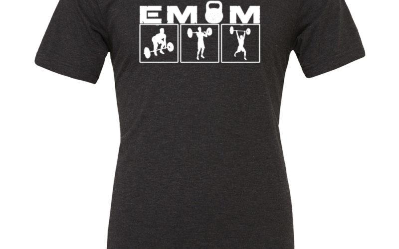 EMOM Clean&Jerk TriBlend T-Shirt Herren