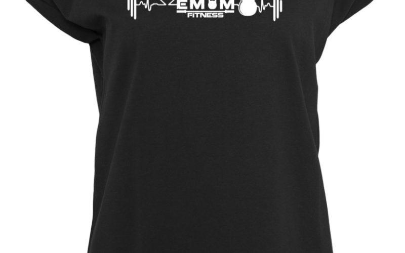 EMOM Heartbeat-Kettlebell T-Shirt Damen