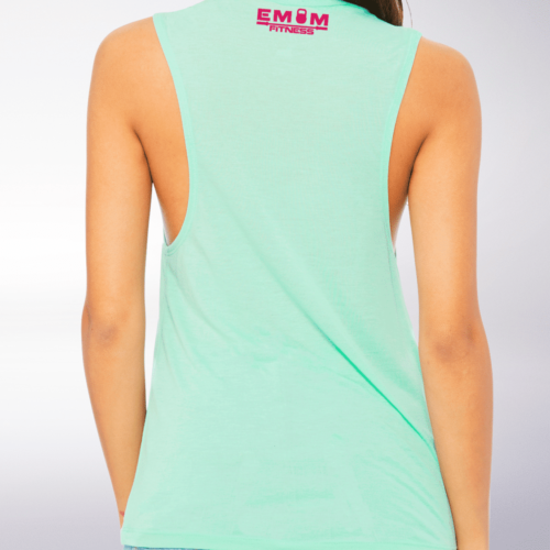 Pink WOD THE FUCK Loose Muscle Tank Damen - Mint 5