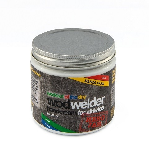 w.o.d. welder - Hand creme AS RX - 473ml oder 60ml 4
