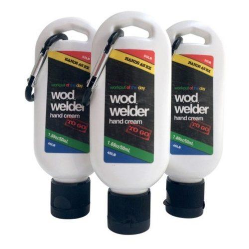w.o.d. welder - Hand creme - Hände as Rx to go mit Carabiner 5
