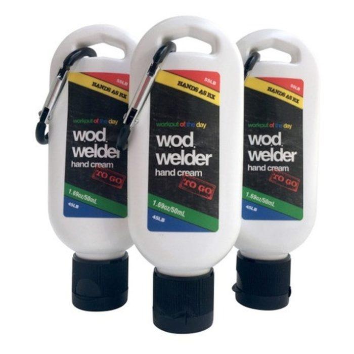 w.o.d. welder - Hand creme - Hände as Rx to go mit Carabiner 3