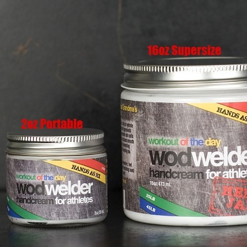 w.o.d. welder - Hand creme AS RX - 473ml oder 60ml 2