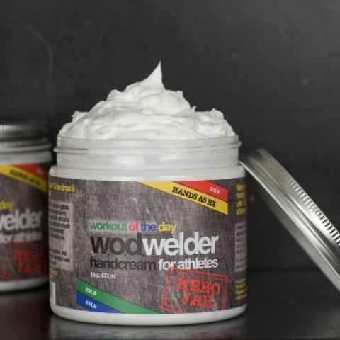 w.o.d. welder - Hand creme AS RX - 473ml oder 60ml 1