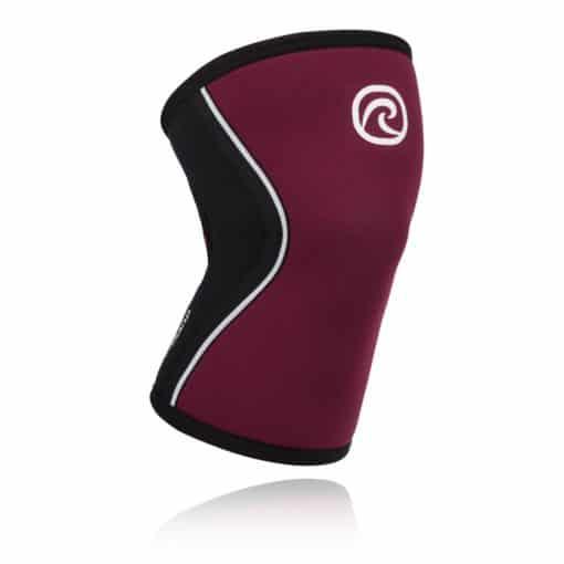 REHBAND Rx Kniebandage 5mm bordeaux