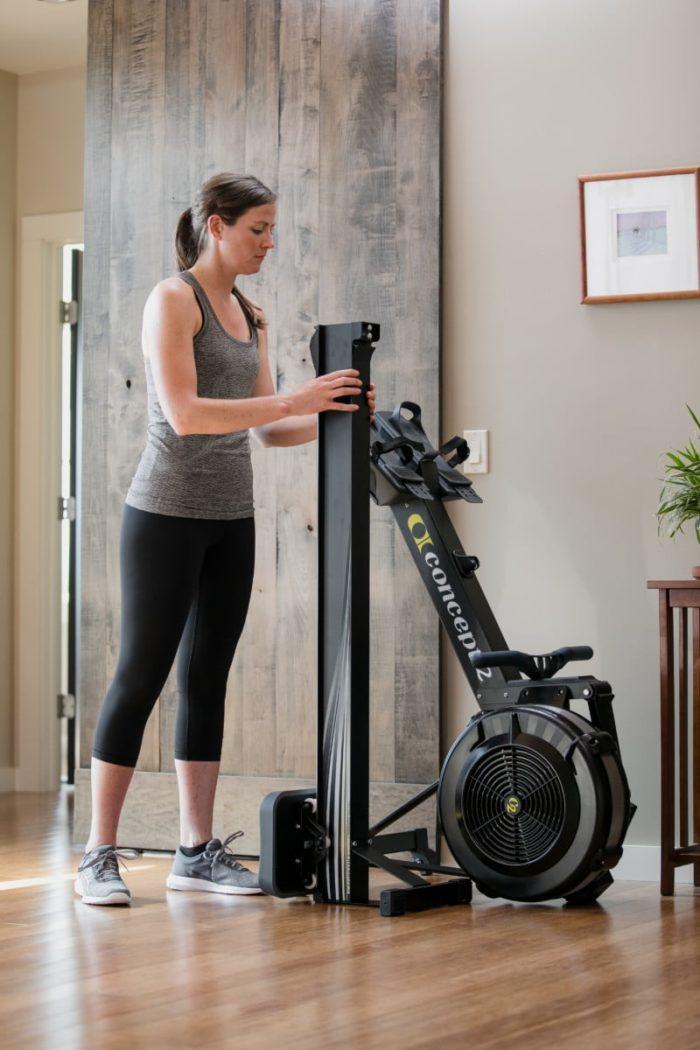 concept2 Model D Indoor Rower mit PM5 - Rudergerät 5