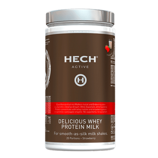 Delicious Whey Protein Milk Erdbeere 500g by HECH®