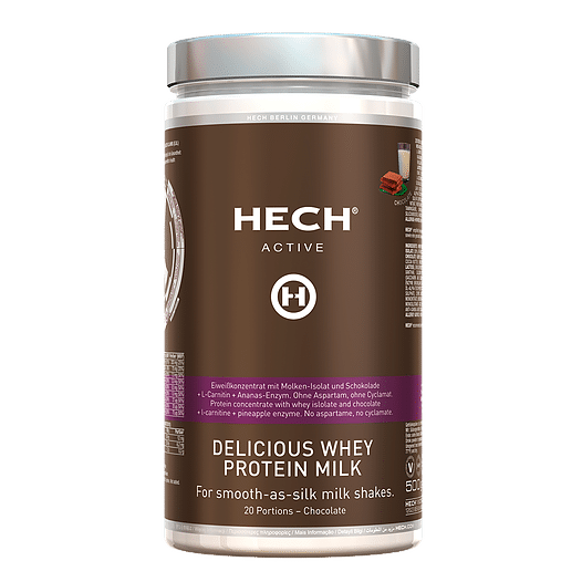 Delicious Whey Protein Milk Schoko 500g by HECH® 1