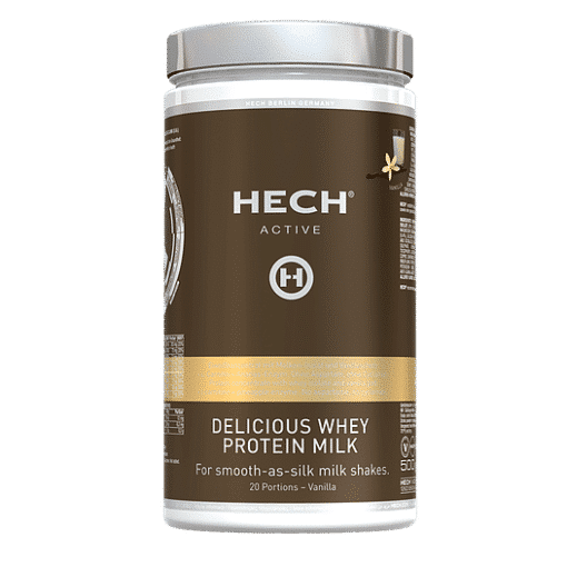 Delicious Whey Protein Milk Vanille 500g by HECH® 1